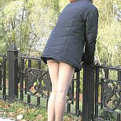 Hose rear view upskirts.