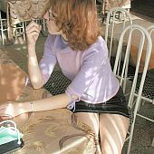 I got favourable to locate this redhead afresh getting some greater quantity upskirt fotos of her hawt dark panties.