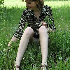 Voyeur grass.