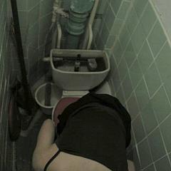 Voyeur piss-can.