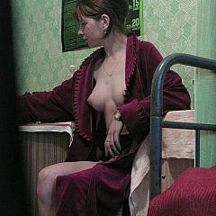 Voyeur robe.