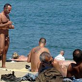 Beach sex, hidden cameras, bare angels and men.