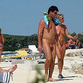 Hawt nudists having fun.