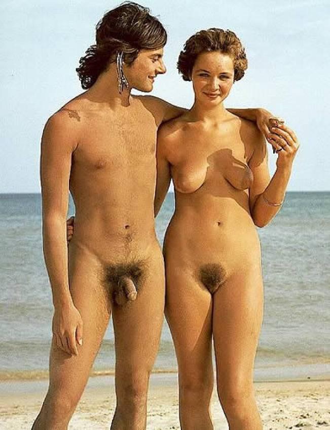 Tits teenage nudists