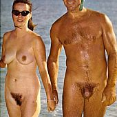 Sexually excited nudists take.