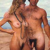 Excited nudists take hot.